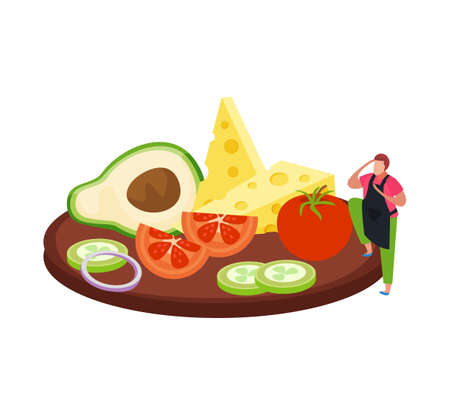 Ingredients Flat Icon