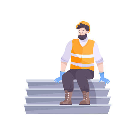 Bearded Oil Worker Composition