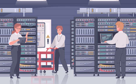 Data Center Workers Composition