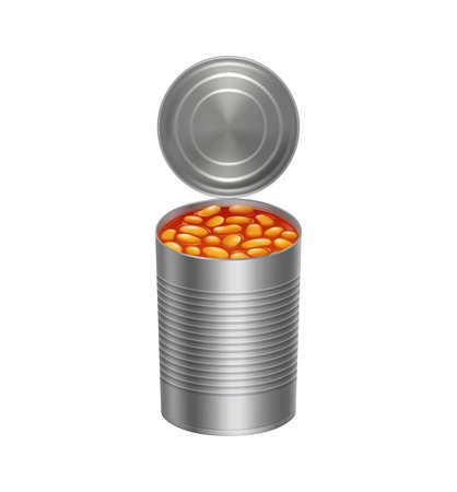 Can With Beans Icon