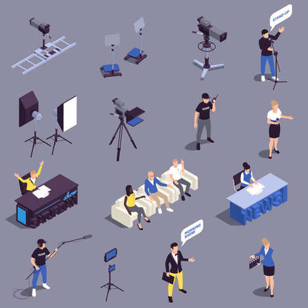 TV Show Icons Set