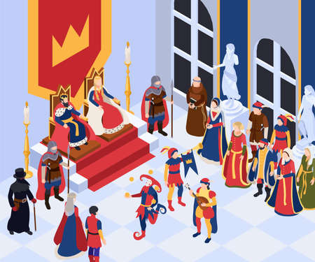 Medieval Characters Background