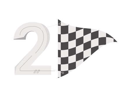 Racing Flat Icon