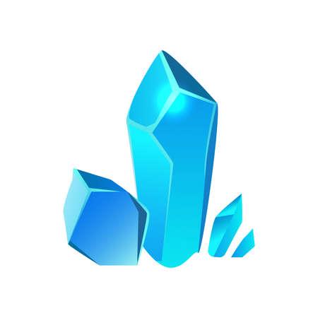 Cartoon Game Minerals