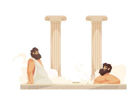Roman People Illustration
