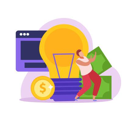 Crowdfunding Flat Icon