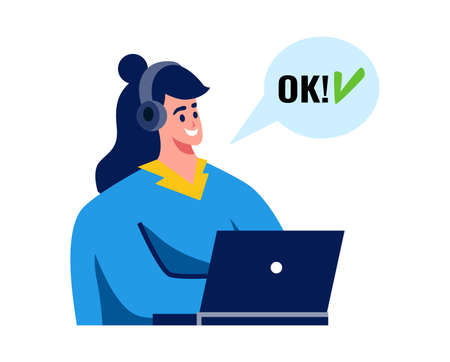 Delivery Confirmation Agent Composition Иллюстрация