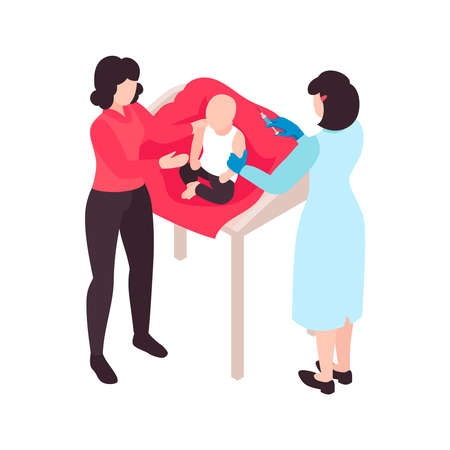 Vaccinating The Baby Composition