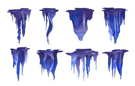 Stalactites Blue Set