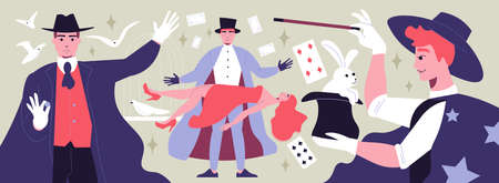 Magic Show Illustration