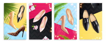 Shoes Posters Set