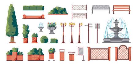 Park Elements Set