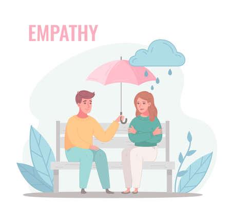 Rainy Weather Empathy Composition