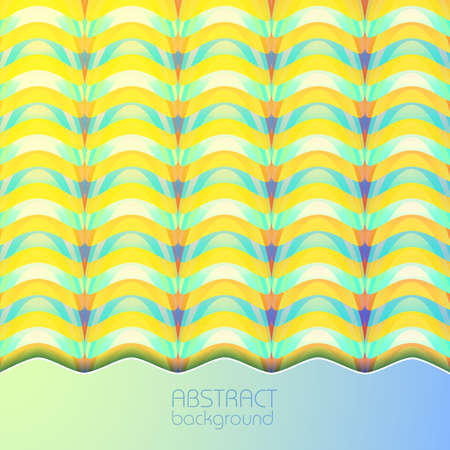 Abstract light colorful background of repeating structure in overlay mosaic style vector illustration Ilustração