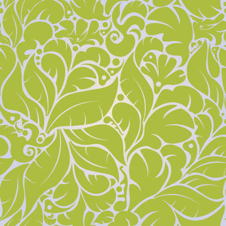 Vector Beautiful seamless floral pattern background Ilustração Vetorial