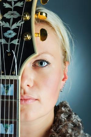Portrait Guitar Girl photo