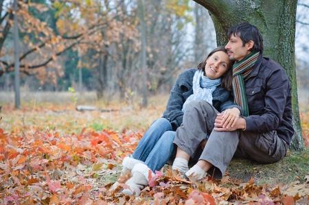 affetto: Coppia nel parco