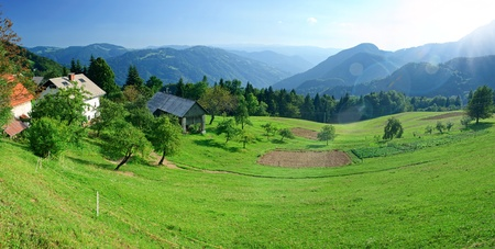 High Tatras Mountains In Slovakia photo