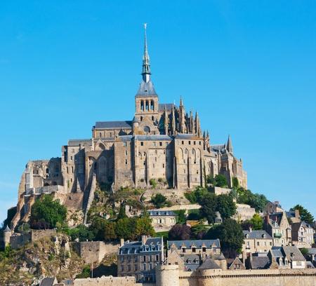 mont saint michel: Panorama le Mont Saint-Michel