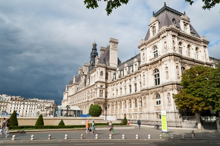 Hotel De Ville In Paris photo