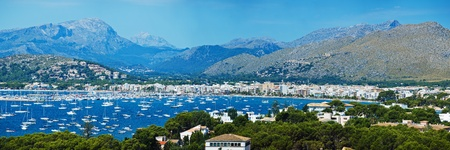 Panoramic View of Alcudia Bay photo