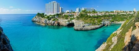 grenadines: Panoramic View of Bay Majorca