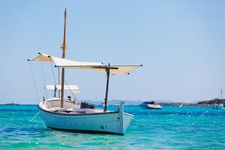 Boat In Bay photo