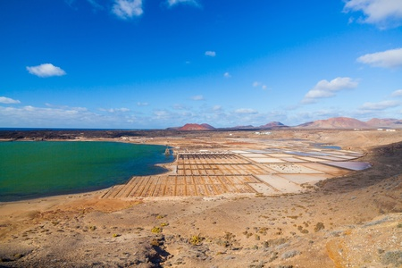 Salinas de Janubio, Lanzarote photo