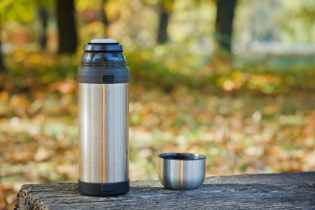 Insulated flask photo