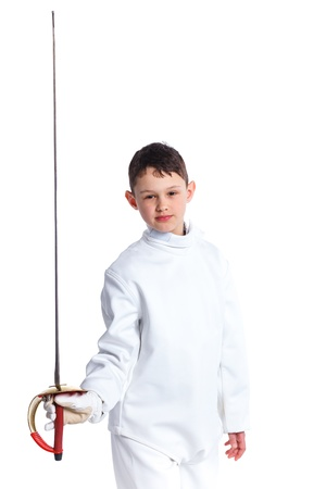 Little fencer Stock Photo - 13248633