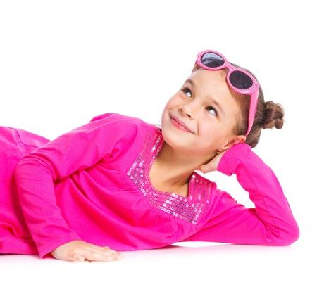 Little fashionable girl photo