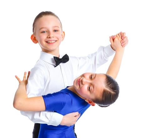 Young ballroom dancers Stock Photo - 13679824