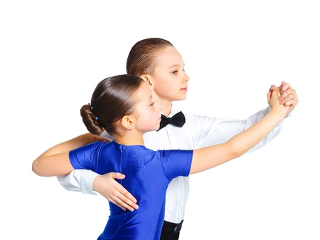 Young ballroom dancers Stock Photo - 13697215