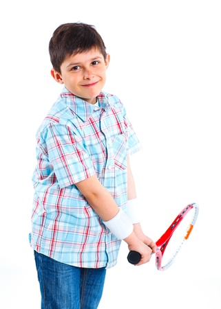 Young tennis player Stock Photo - 13713765