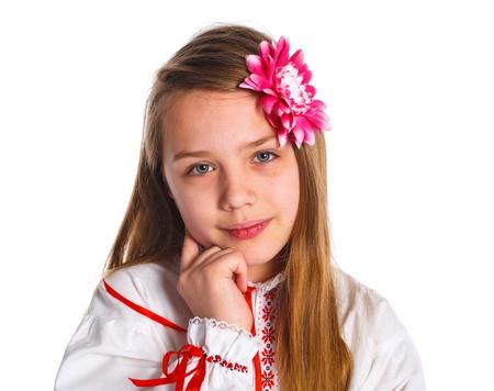 Cute fashionable girl Stock Photo - 13825584