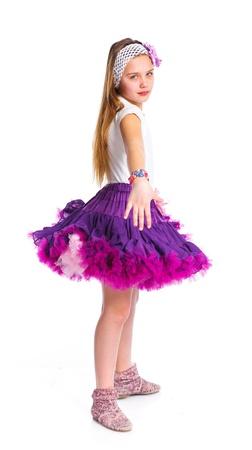 Cute fashionable girl Stock Photo - 13825545