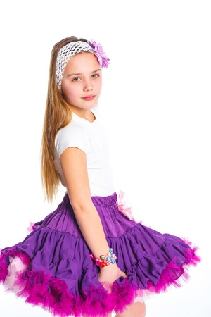 Cute fashionable girl Stock Photo - 13825589