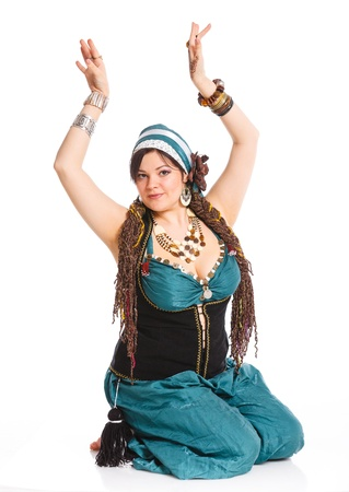 Oriental dancer photo
