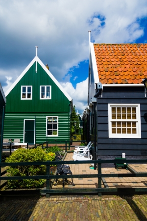 Typical dutch houses Stock Photo - 14141075