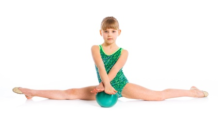 Little gymnast Stock Photo - 14051049