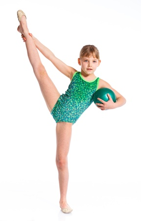 Little gymnast photo