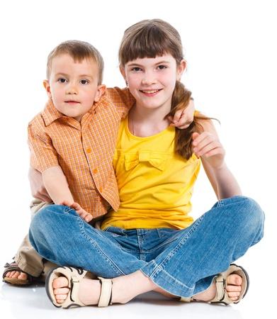 Portrait of a child photo
