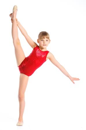 rhythmic gymnastic: Poco gimnasta