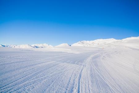snowcat: Snowcat track close-up