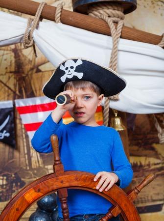 scoundrel: Boy pirata