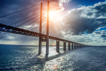 The bridge between Denmark and Sweden, Oresundsbron