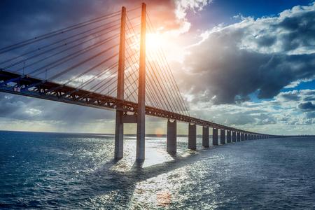 The bridge between Denmark and Sweden, Oresundsbron