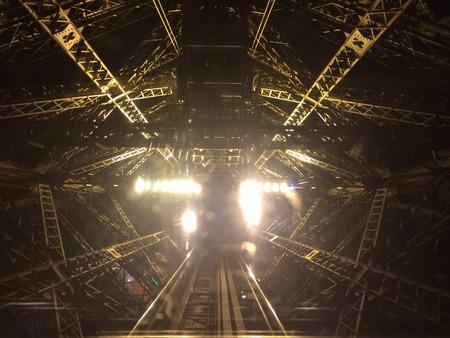 descending: Descending the Eiffel Tower