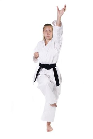 Female Third Degree Black Belt. photo