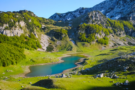 scenic rivers and lakes in Montenegro